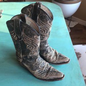 Women's Western Boot, Size 6.5